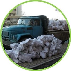 Зил-самосвал для вывоза строительного мусора
