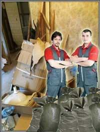 Недорогой вывоз мусора с грузчиками в Санкт-Петербурге