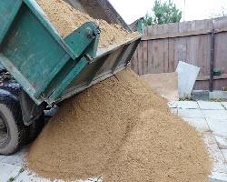 доставка песка Зил самосвал