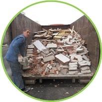 Вывоз контейнером 27 м 3 старой мебели и мусора из квартиры СПб